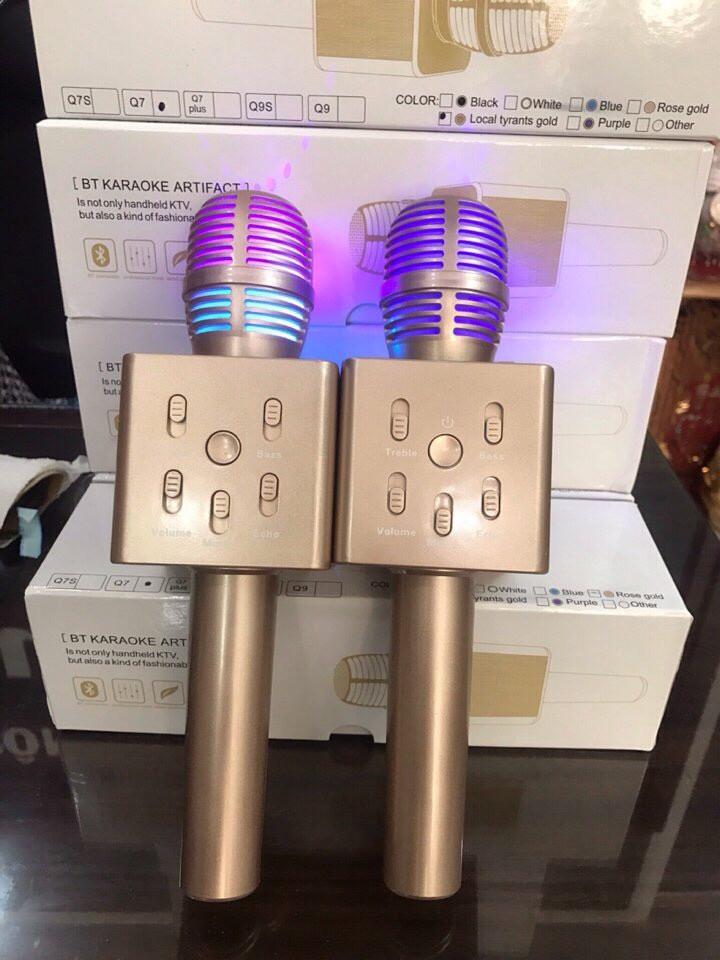 Micro Karaoke Trên Điện Thoại Q7 MẪU MỚI NHẤT 3