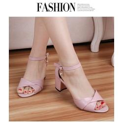 giày cao gót nữ hàng nhập bền đẹp sang