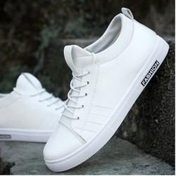Giày  sneaker da nam  mẫu mới nhất 2018 GLK104