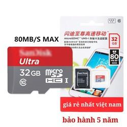 Thẻ nhớ 32GB chính hãng giá rẻ nhất việt nam