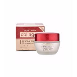 Kem dưỡng da giữ ẩm 3 W Clinic Collagen Regeneration Cream 60ml