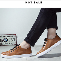 [Free Ship] Giày thể thao nam da bò - Giá tận gốc