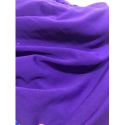 Vải cát hàn loại 1 màu tím huế giá rẻ nhất thị trường