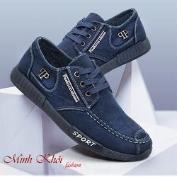 Giày lười vải nam [Siêu giảm giá]