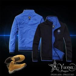 Áo Khoác Dù Cao Cấp 2 Mặt Thêu Ex - Yuna Boutique [Tặng 1 Khẩu Trang Su Dày Kháng Khuẩn Khi Mua]