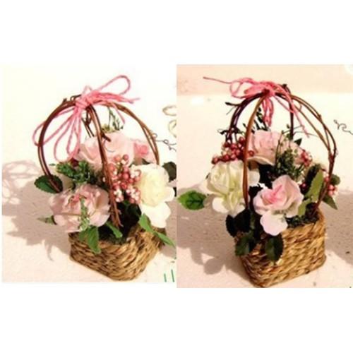 Cây, hoa trang trí nhà cửa, tủ kệ - cặp giỏ hoa hồng nhỏ - 4978103 , 8563823 , 15_8563823 , 215000 , Cay-hoa-trang-tri-nha-cua-tu-ke-cap-gio-hoa-hong-nho-15_8563823 , sendo.vn , Cây, hoa trang trí nhà cửa, tủ kệ - cặp giỏ hoa hồng nhỏ