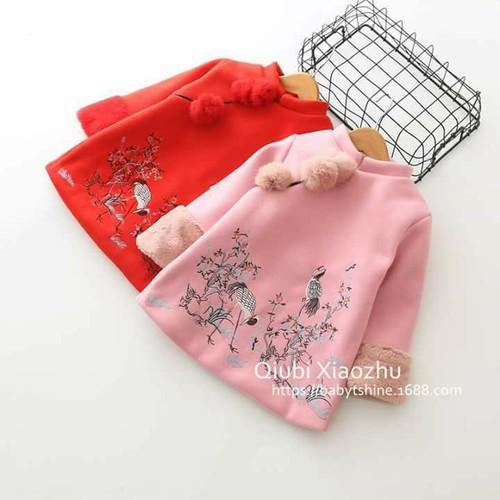 áo dạ cho bé gái