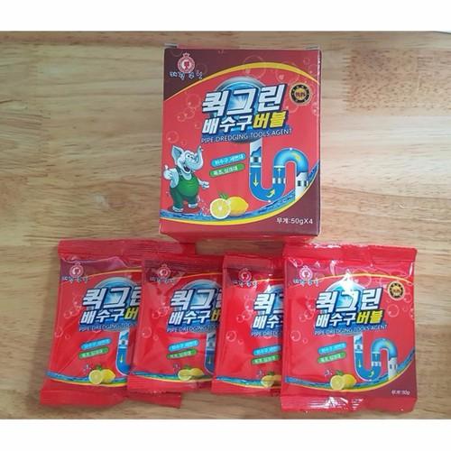 Bột thông tắc bồn cầu siêu mạnh - Sản xuất tại Hàn Quốc 200g - 5195004 , 8564451 , 15_8564451 , 49000 , Bot-thong-tac-bon-cau-sieu-manh-San-xuat-tai-Han-Quoc-200g-15_8564451 , sendo.vn , Bột thông tắc bồn cầu siêu mạnh - Sản xuất tại Hàn Quốc 200g