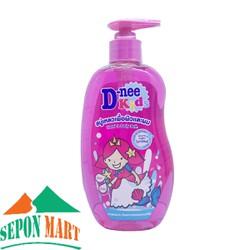 Sữa Tắm Gội  Trẻ Em D-nee Kids Happy Berry Hồng 400ml - Thái Lan