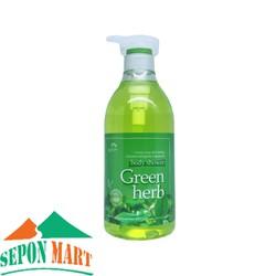 Sữa Tắm Green Herb Tinh Chất Thảo Mộc 750ml - Hàn Quốc