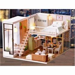Bộ mô hình lắp ghép DIY - Ngôi nhà búp bê Waiting for the time