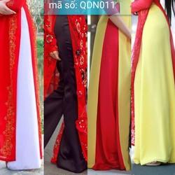 Quần áo dài truyền thống ống rộng nhìu màu đủ size có size lớn XXL