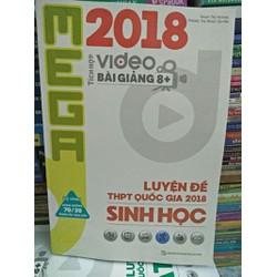 Mega 2018 - Luyện  đề THPT quốc gia 2018 Sinh Học