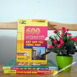Sách 600 động từ bất quy tắc tiếng Anh - Kèm CD