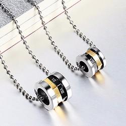 Mặt dây chuyền cặp số La Mã MDC291 cung cấp bởi Winwinshop88