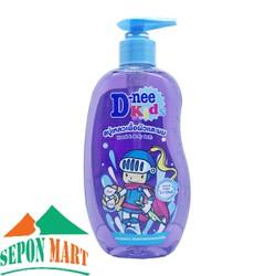 Sữa Tắm Gội Trẻ Em D-nee Kids Happy Berry Tím 400ml - Thái Lan