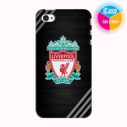 Ốp lưng iPhone 4s in Logo CLB Liverpool Mẫu 3