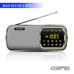 Radio Nghe Nhạc Thẻ Nhớ, USB, Đài FM Keling F3