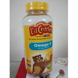 Kẹo dẻo Omega-3 DHA phát triển trí não