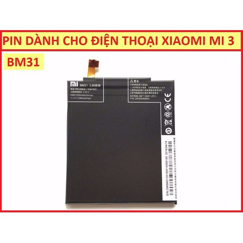 PIN XIAOMI BM31