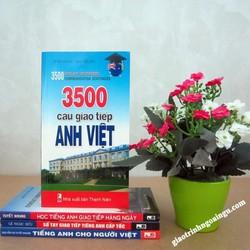 Sách 3500 câu giao tiếp Anh Việt - Kèm CD