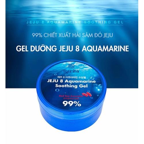 Dưỡng Ẩm RARITA Jeju 8 Aquamarine Soothing Gel - Jeju [Hàn Quốc]