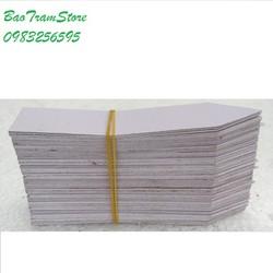 Thẻ ghi tên - Tag ghi tên cây trồng loại treo màu trắng hộp 100 cái