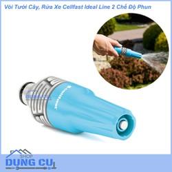 Vòi tưới NHẬP KHẨU 2 dạng phun nước dùng tưới cây, tưới vườn, rửa xe