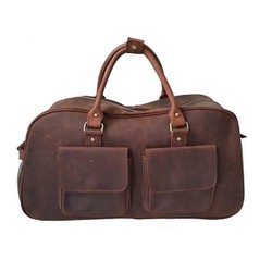 Túi xách du lịch da bò có cần kéo VKevin