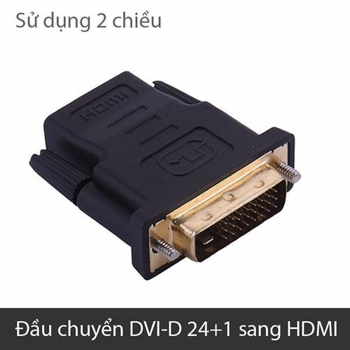 Đầu chuyển DVI-D 24+1 sang HDMI - 5199946 , 8573906 , 15_8573906 , 50000 , Dau-chuyen-DVI-D-241-sang-HDMI-15_8573906 , sendo.vn , Đầu chuyển DVI-D 24+1 sang HDMI