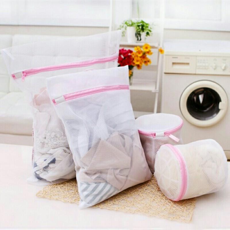 Combo 4 túi lưới giặt đồ size lớn 50x60cm 5