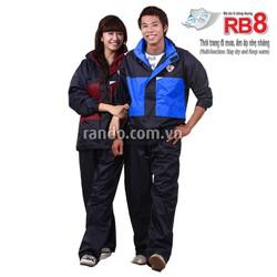 Bộ áo mưa giữ ấm 2 lớp RB8 - Size 3XL - RANDO