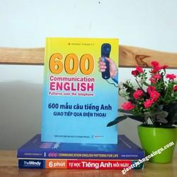 Sách 600 mẫu câu tiếng Anh giao tiếp qua điện thoại