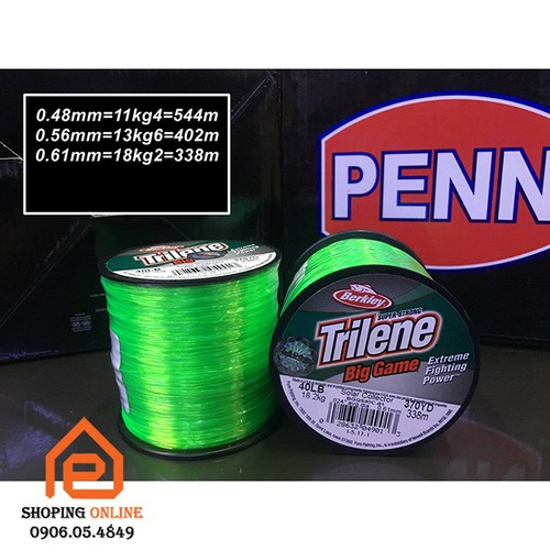 Dây cước câu cá Trilene - 10553377 , 8370300 , 15_8370300 , 324000 , Day-cuoc-cau-ca-Trilene-15_8370300 , sendo.vn , Dây cước câu cá Trilene