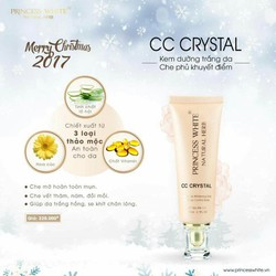 Kem dưỡng trắng - che phủ trang điểm CC Crystal Princess White