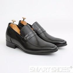 Giày lười cao Loafer da Ý cao cấp Smart Shoes SC702