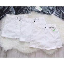 Váy quần Jean TRẮNG S - M - L