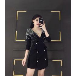 Đầm ôm body thiết kế dạng vest