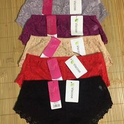 combo 5 quần lót nữ ren cotton