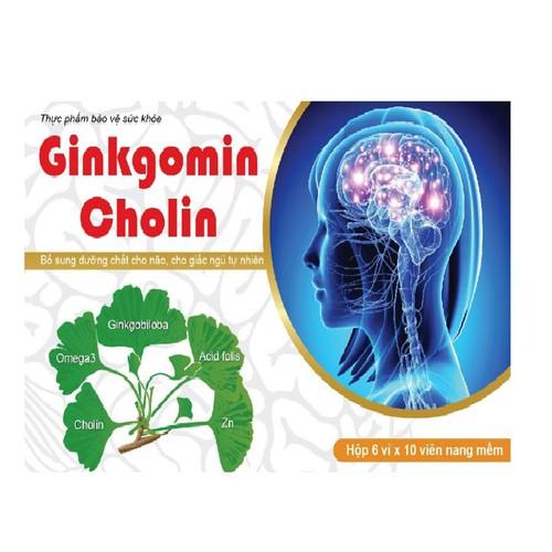 GINKGOMIN CHOLIN - Bổ sung dưỡng chất cho não , cho giấc ngủ tự nhiên - 10552783 , 8366623 , 15_8366623 , 150000 , GINKGOMIN-CHOLIN-Bo-sung-duong-chat-cho-nao-cho-giac-ngu-tu-nhien-15_8366623 , sendo.vn , GINKGOMIN CHOLIN - Bổ sung dưỡng chất cho não , cho giấc ngủ tự nhiên