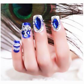 Nail giả - nail-blue-1