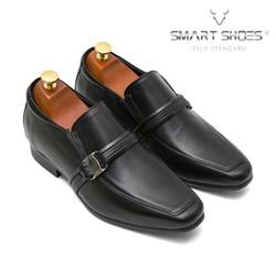 Giày lười cao Loafer da Ý cao cấp Smart Shoes SC730