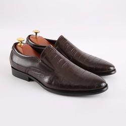 Giày lười da Ý cao cấp Smart Shoes C197