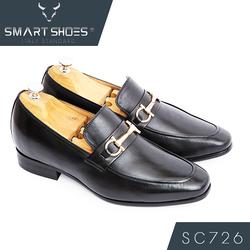 Giày lười caoLoafer da Ý cao cấp Smart Shoes SC726