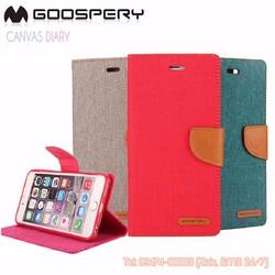 Bao da iPhone 6 plus iPhone 6s plus Mercury Canvas Diary chính hãng