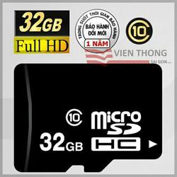 Thẻ nhớ 32GB Micro SDHC Class10 chính hãng 12T