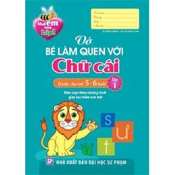 Bộ 4 cuốn Bé làm quen với Chữ cái, Số và Toán dành cho trẻ 5-6 tuổi