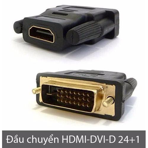 Đầu chuyển đổi DVI-D 24+1 sang HDMI - 4419574 , 8585842 , 15_8585842 , 55000 , Dau-chuyen-doi-DVI-D-241-sang-HDMI-15_8585842 , sendo.vn , Đầu chuyển đổi DVI-D 24+1 sang HDMI