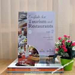 Sách English for Tourism and Restaurant Book 2 - Kèm CD