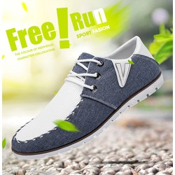 Giày Vải Nam thời trang GV001